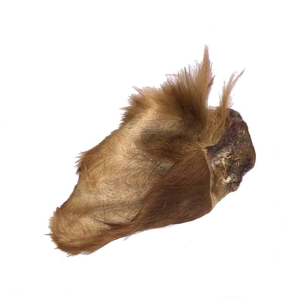 Hariy Venison Ears for dogs