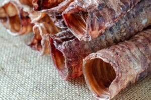 Beef trachea for dogs